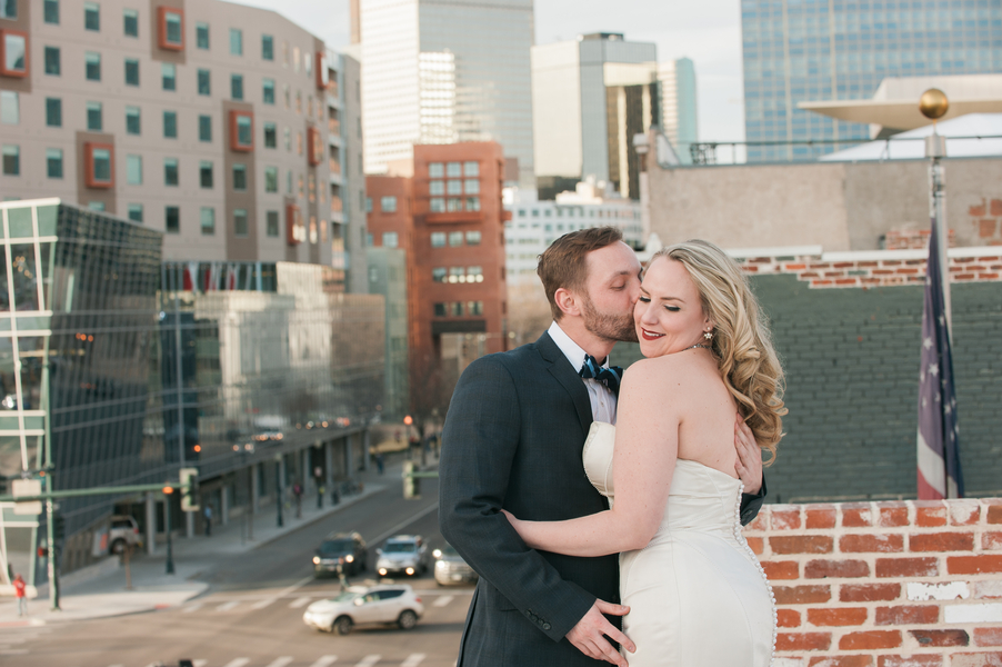 Chic and Urban Styled Wedding