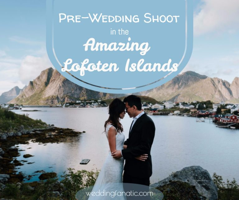 Pre-Wedding Shoot In The Amazing Lofoten Islands
