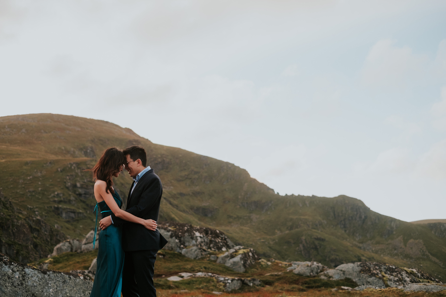 Pre Wedding Shoot In The Amazing Lofoten Islands