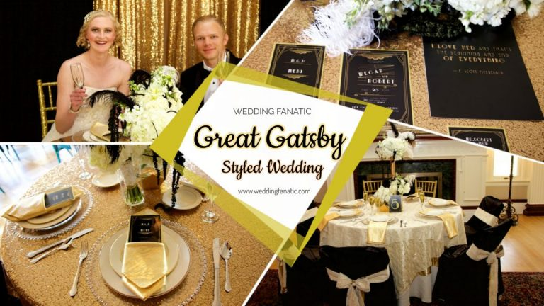 Great Gatsby Styled Wedding