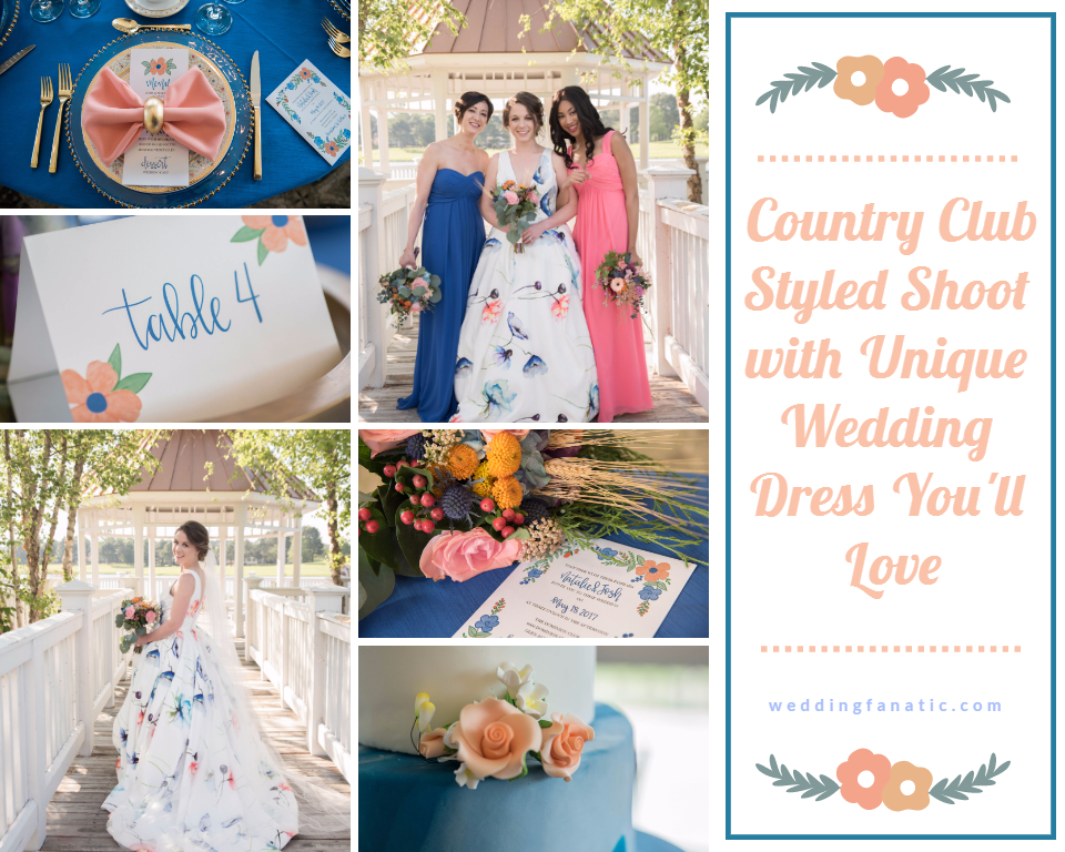 Unique Country Wedding Dresses 92 Vintage Country Club Styled Shoot