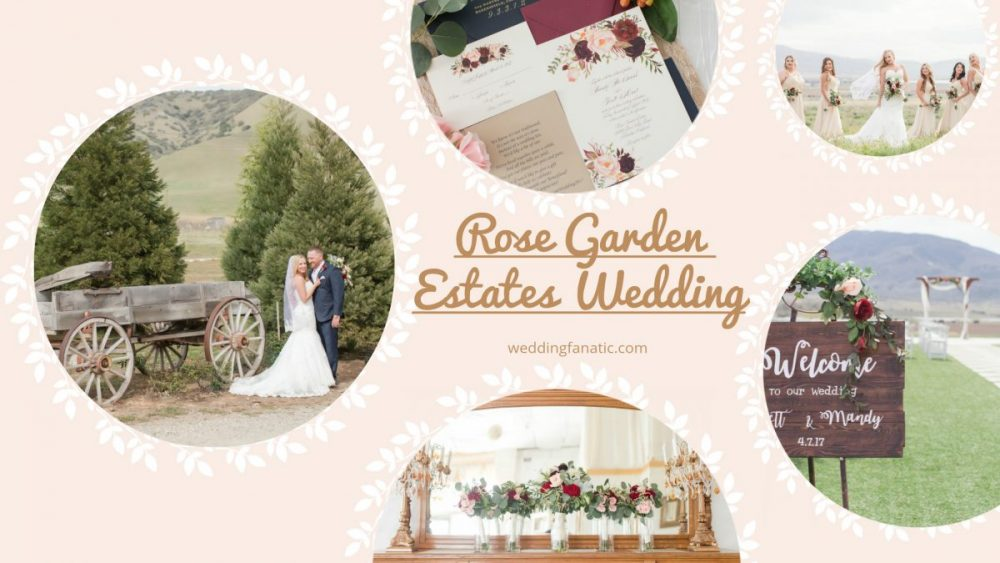 Rose Garden Estates Wedding