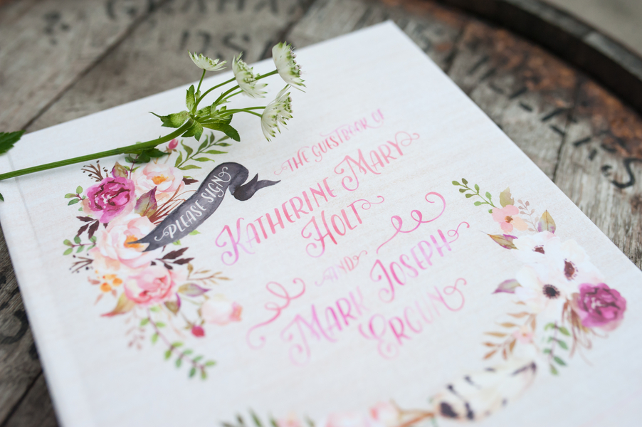Blush, Peach, and Mint Wedding