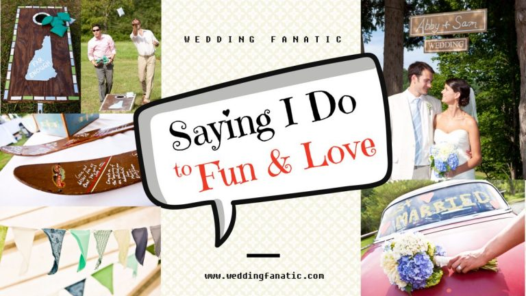 Saying I Do to Fun and Love