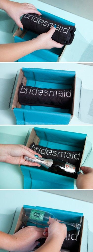"Quick And Easy ""Will You Be My Bridesmaid?"" Box"