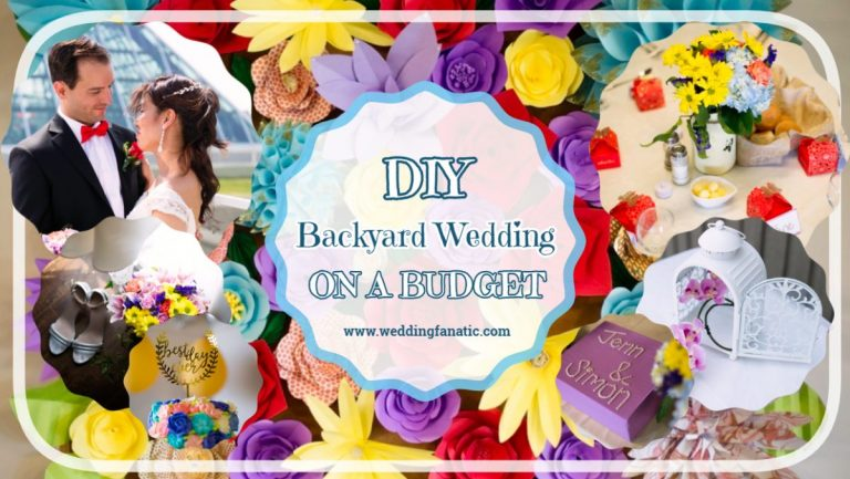 DIY Backyard Wedding on a Budget