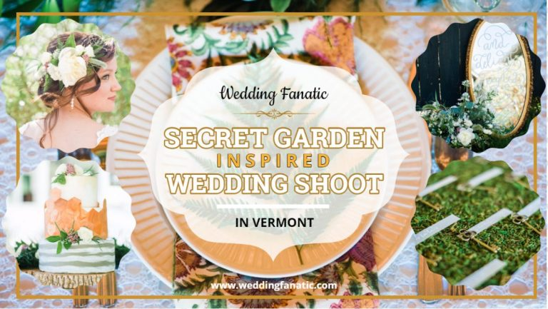 Secret Garden Inspired Wedding Shoot in Vermont