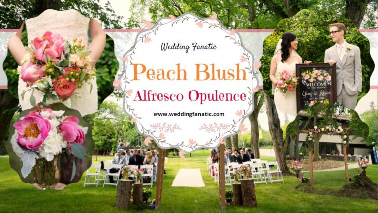 Peach Blush Alfresco Opulence