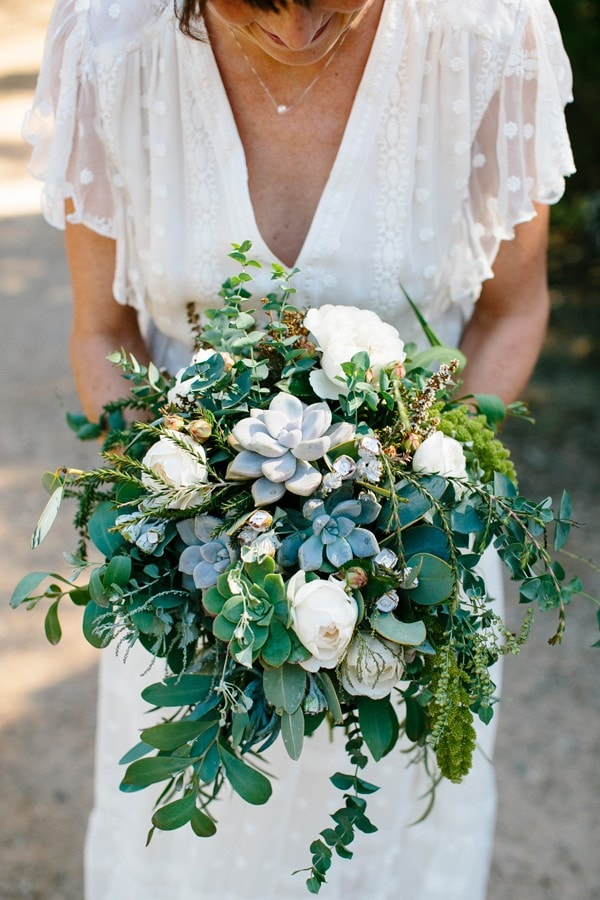 2017 Wedding Trend: Green and Blush
