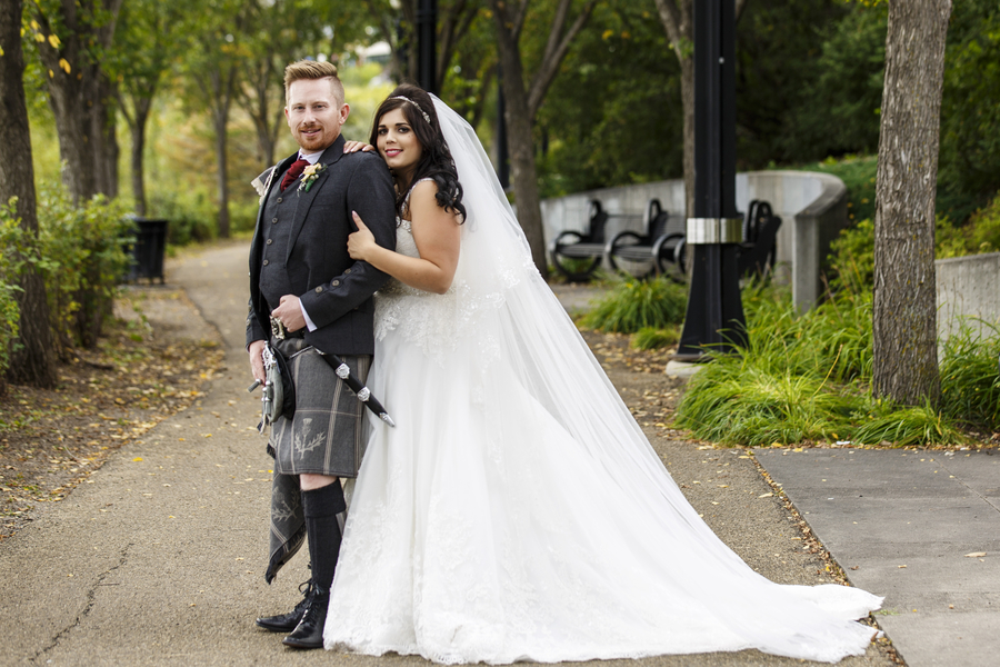 Urban Scottish / Portuguese Wedding