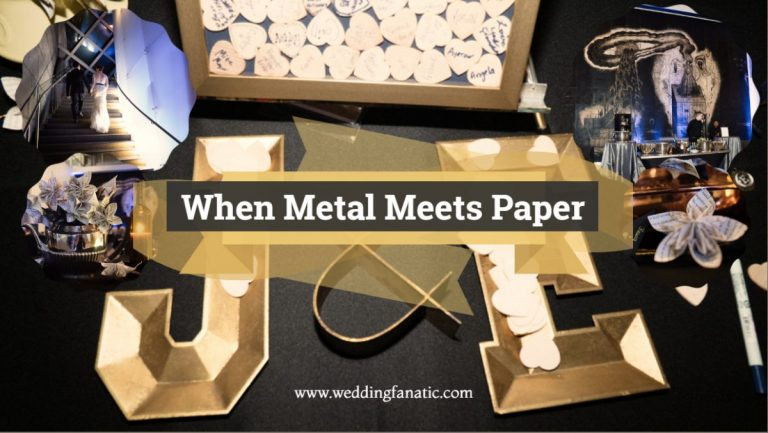 When Metal Meets Paper