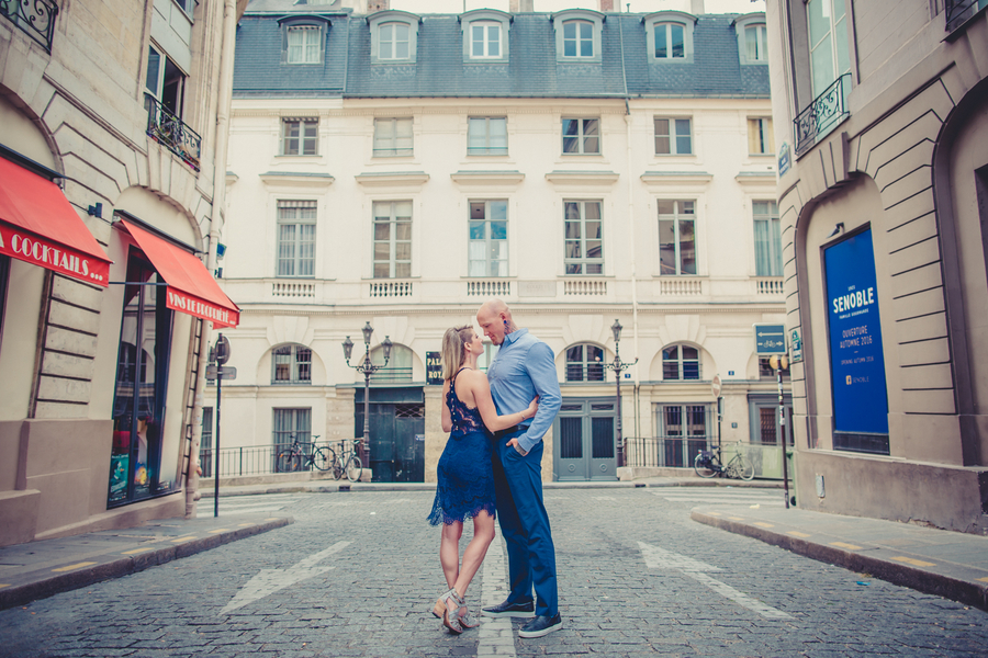 Alternative Couple Photo Session in Paris