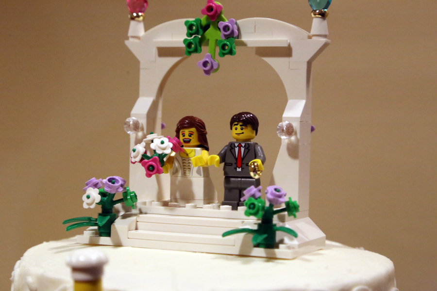 Lego And Game Themed Wedding Wedding Fanatic