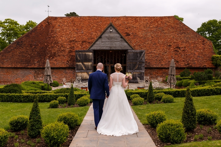 Barn Wedding in Berkshire