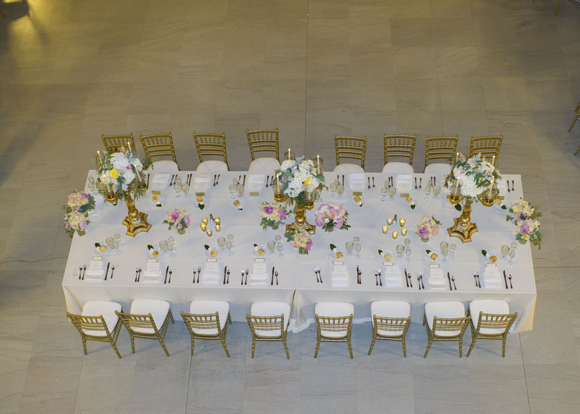 Chic City Floral Filled Wedding