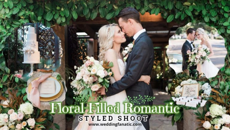 Floral-Filled Romantic Styled Shoot