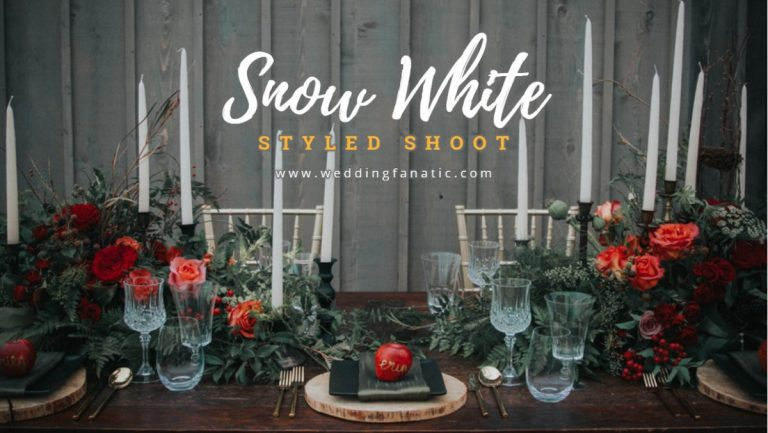 Snow White Styled Shoot