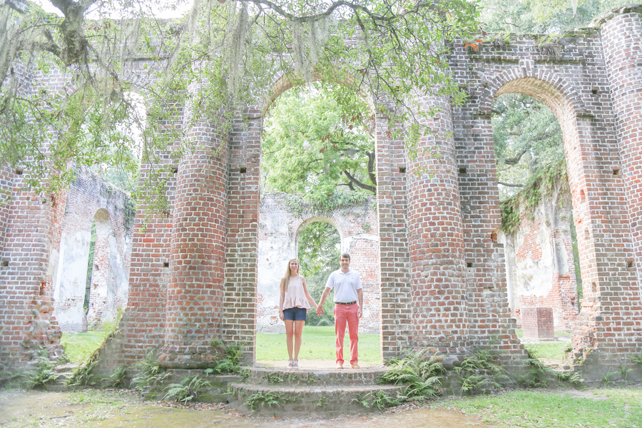 Engagement at Old Sheldon Ruins