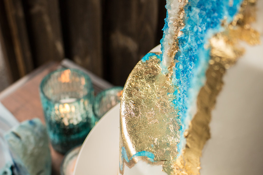 Crystal Magic and Cozy Woodland Style Shoot