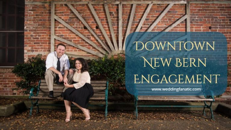 Downtown New Bern Engagement