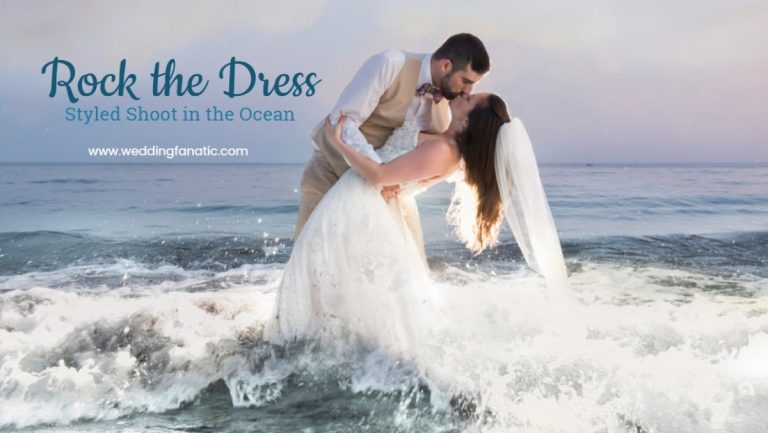 Rock The Dress Styled Shoot in the Ocean