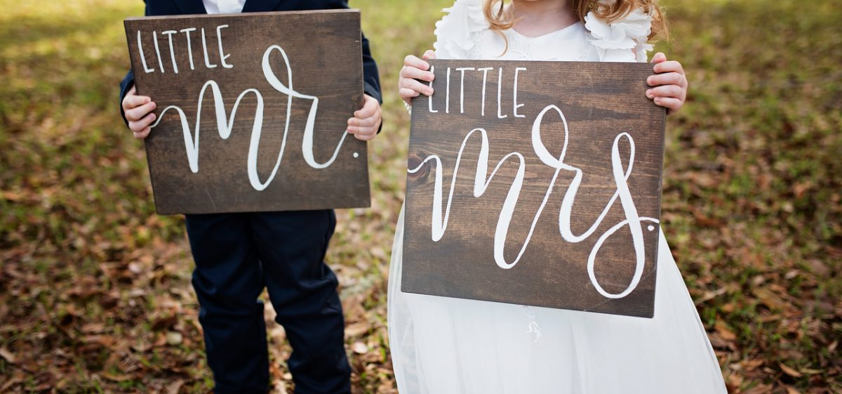 Miniature Wedding Styled Shoot