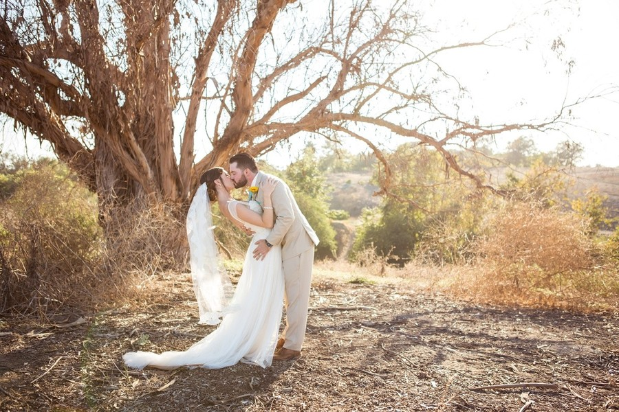 Rustic and Robins Egg Blue California Barn Wedding