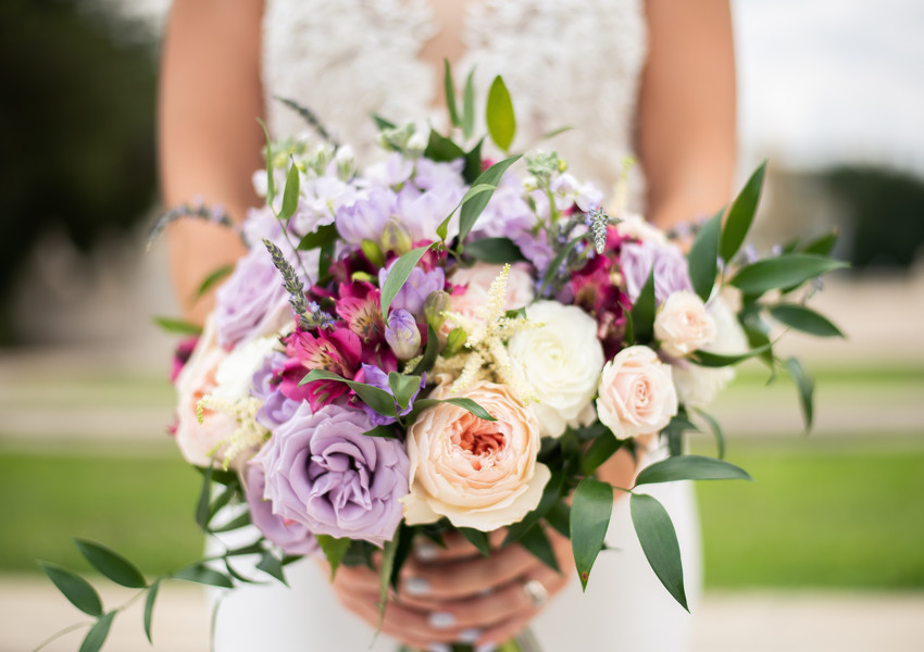 Romantic Italian Lavender Wedding