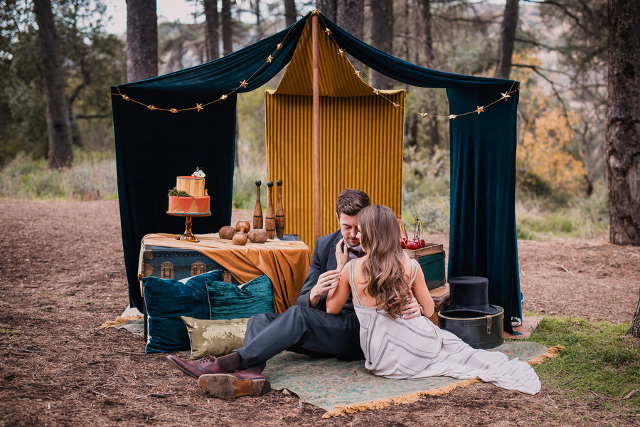 1930s Vintage Circus Styled Shoot