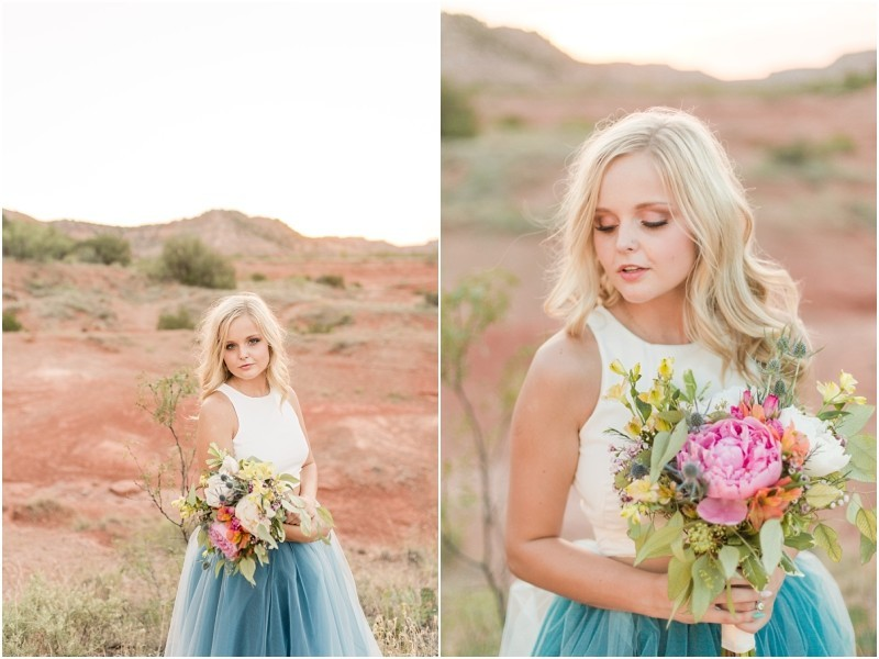 Twirling Tulle at Palo Duro Canyon