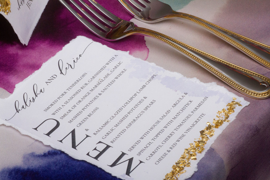 The Color of Love Wedding Reception Inspiration