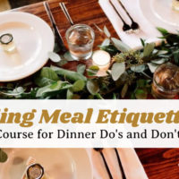 Wedding Meal Etiquette