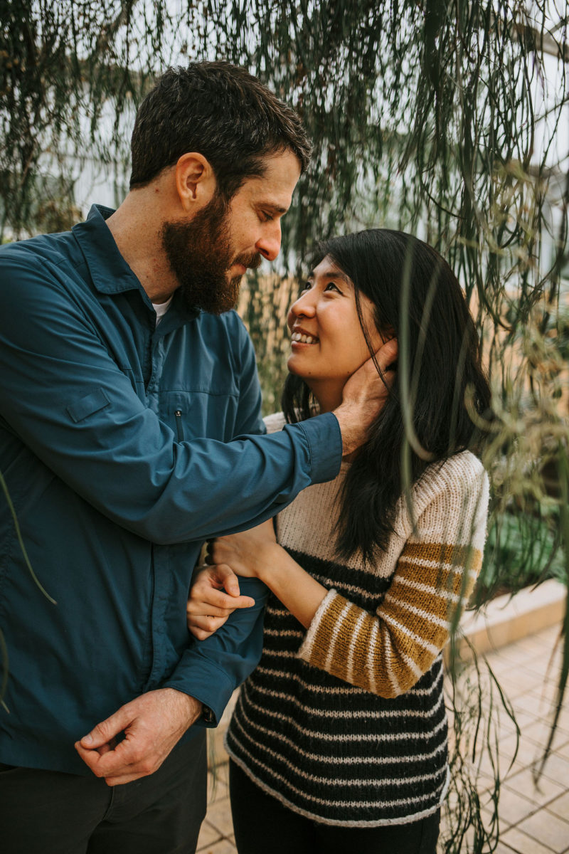 Engagement Shoot At The Rawlings Conservatory