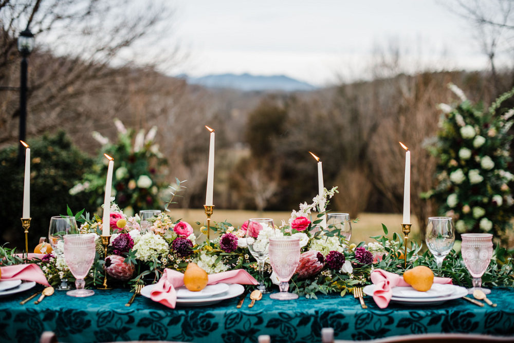 A Burst of Colors Styled Wedding