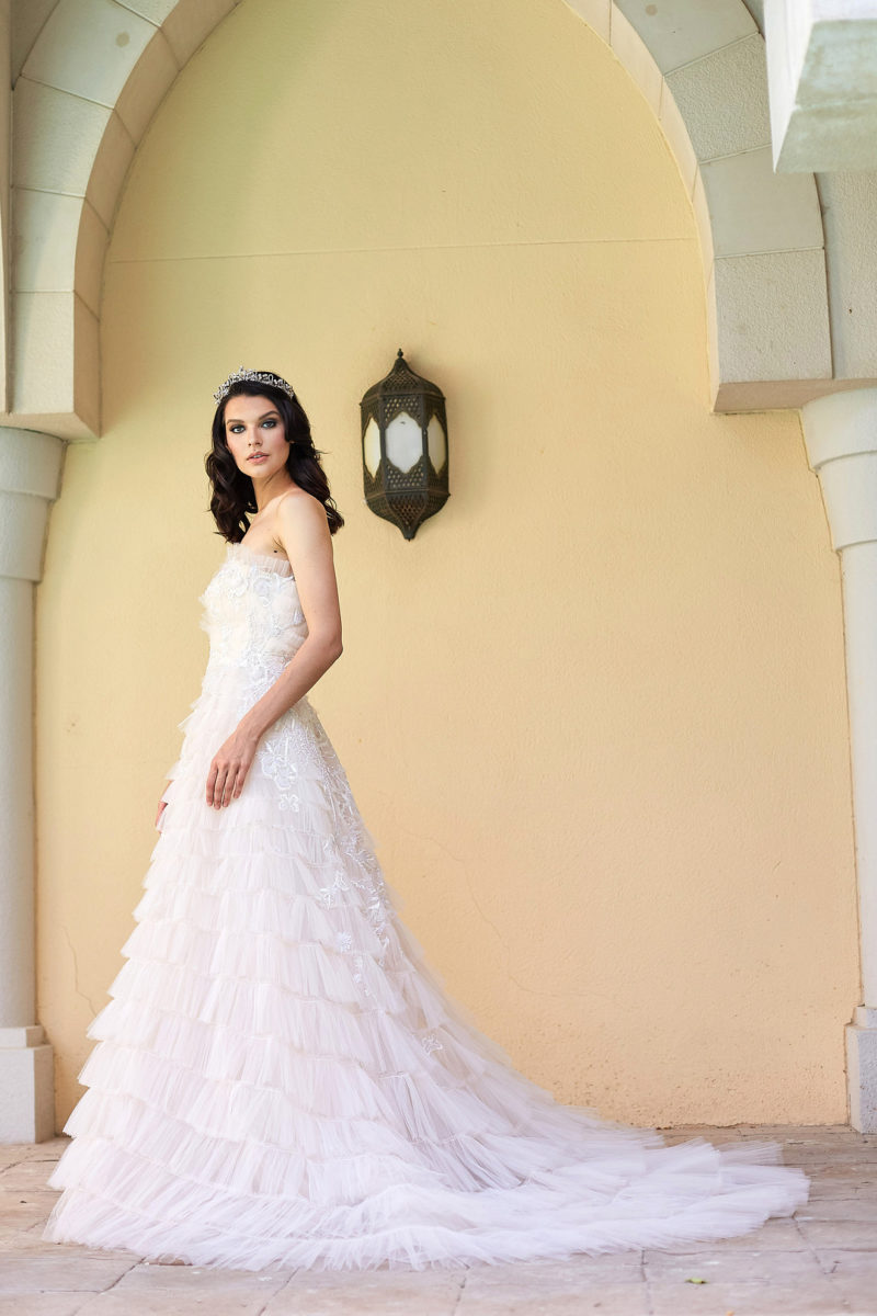 Opulent and Dramatic Styled Bridal Shoot