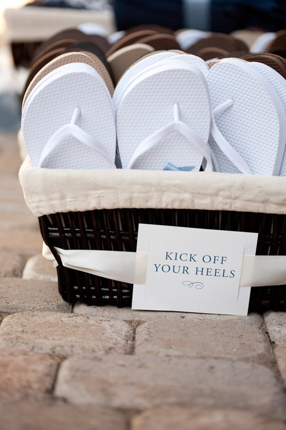 The Wedding Reception: Essential Items