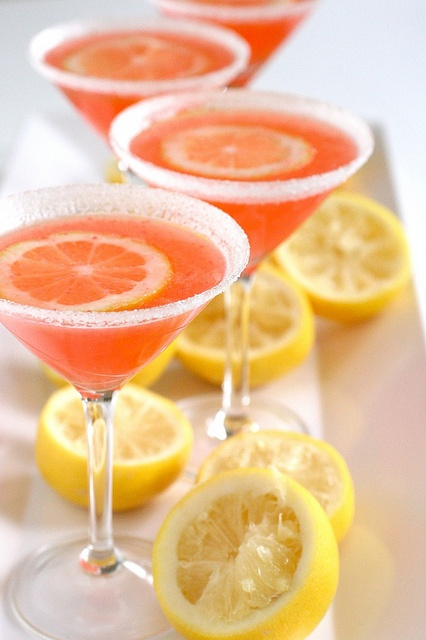 Colored Cocktails for Your Reception