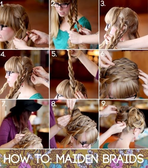 Astounding 3 Easy Diy Wedding Day Hairstyles Wedding Fanatic Hairstyle Inspiration Daily Dogsangcom