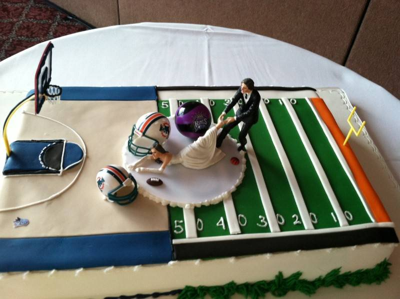 Sports Themed Weddings