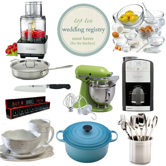 Wedding Registry List Ideas: Wedding Shower Gift Ideas That Won't Go To Waste