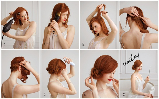 3 Fun Wedding Shower Hairstyles for the Bride