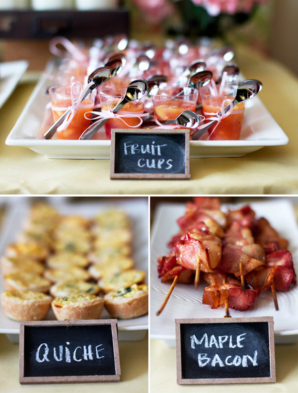 Bridal Shower Brunch Ideas Keeping It Simple