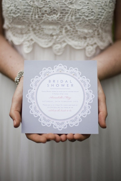 What to Include on Your Wedding Shower Invitations