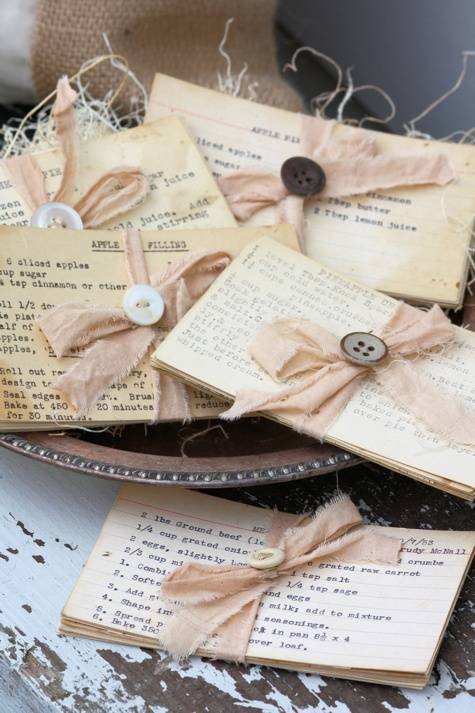 Fun Recipe Card Gift Idea for a Wedding Shower