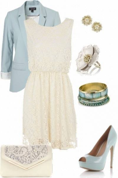 Adorable Wedding Shower Outfit Ideas