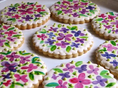 Gorgeous Wedding Shower Cookies