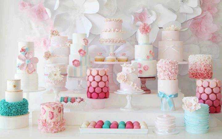 5 Beautiful Wedding Shower Dessert Bars