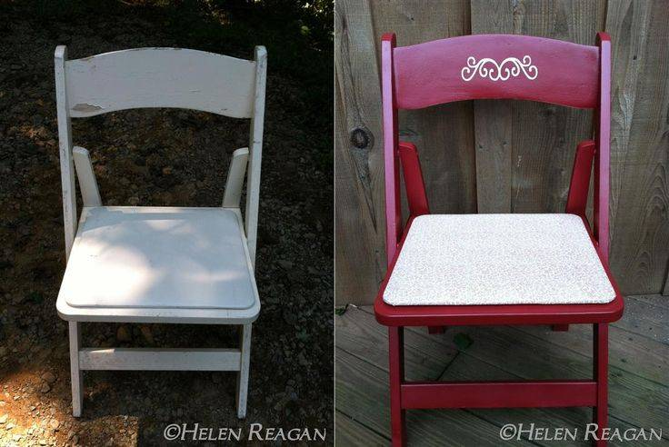Beautiful Upcycled Wedding Chairs