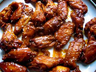 Simple and Delicious Wedding Shower Wings