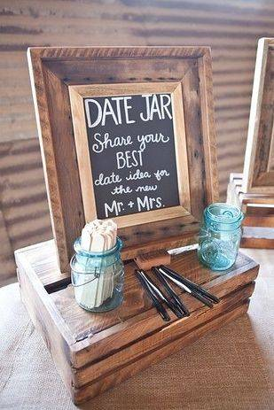 The Date Jar Idea for the Bride and Groom